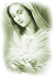Holy Spirit and Mary